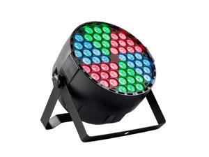 Monoprice Stage Right 1-watt RGB 3-in-1 x 54 LED Sound Active Party Light With Built-In Automated Color Changing Programs