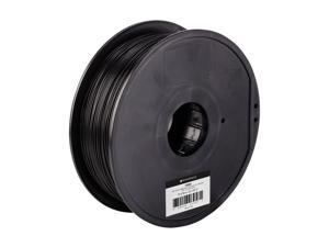 Monoprice Select ABS Plus+ Premium 3D Filament  1kg 1.75mm  - Black - Compatible With Almost All 3D Printers And 3D Pens