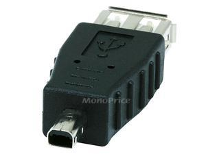Monoprice USB 2.0 A Female to Mini 4 pin (B4) Male Adapter