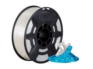 Monoprice Hi-Gloss 3D Printer Filament PLA 1.75mm - 1kg/spool - Natural, Works With All PLA Compatible 3D Printers