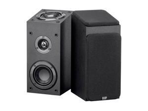 Monoprice Premium Immersive Satellite Speakers - Black (Pair) With 3Inch woofer, 3/4Inch Aluminum Dome & 100 Watt Input Power