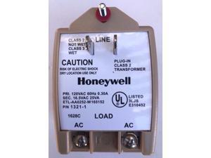 Honeywell  1321-1 Class 2 Plug-In Transfomer 16.5VAC 25VA