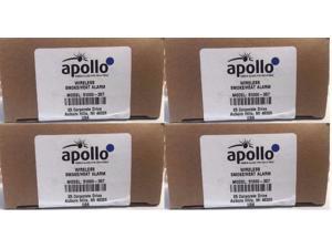"""4"" APOLLO 51000-357 Wireless Smoke / Heat Detector Honeywell 5808W3,"