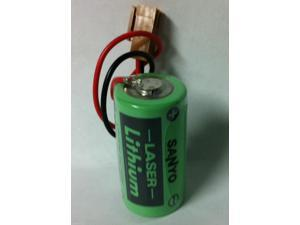 Sanyo CR17335SE-R 3 Volt Lithium Battery, Industrial & Memory Applicat