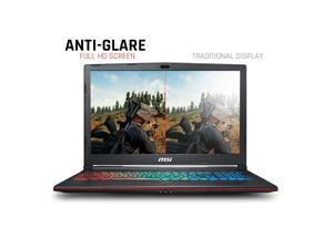 "MSI GP63 15.6"" Premium High Performance IPS WideView Gaming Laptop (1920x1080),  8th i7-8750H (6 cores),  16GB RAM, 256GB NVMe SSD + 1TB HDD, NVIDIA GeForce GTX 1060 6G, VR Ready, RGB KB"