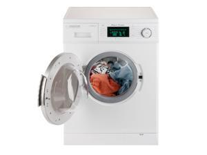 Equator Appliances EZ 4000  All-in-one 1200 RPM Compact Convertible Combo Washer Dryer with Fully Digital Control Panel in White
