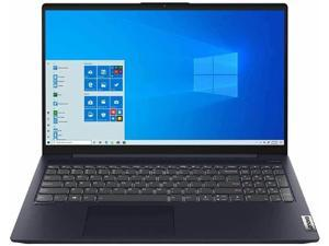 """Lenovo IdeaPad 5 15.6"""" FHD (1920x1080) Touchscreen Laptop, i7-1065G7 Quad-Core Processor, 12GB DDR4 Memory, 512GB NVMe SSD, Backlit Keyboard, Fingerprint Reader, Windows 10 Home, Abyss Blue Chassis"""