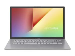 "Asus VivoBook M712D 17.3"" FHD (1920x1080) Laptop (AMD Ryzen 3 3250U Processor, 8GB Memory, 256GB SSD, USB 2.0/3.2, USB-C, HDMI, MicroSD Card Reader, SonicMaster Audio, Windows 10, Transparent Silver)"