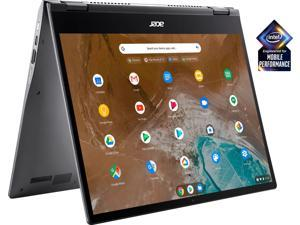 """Acer Spin 713 Convertible 2-in-1 13.5"""" 2K (2256 x 1504) VertiView 3:2 IPS Corning Gorilla Glass Touch Premium Chromebook, Intel i5-10210U, 8GB Memory, 128GB SSD, Backlit Keyboard,Chrome OS, Steel Gray"""