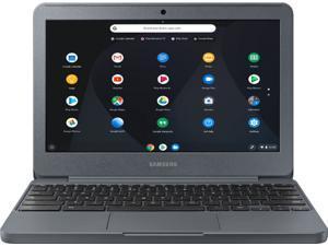 "Samsung - 11.6"" Chromebook - Intel Atom x5 - 2GB Memory - 16GB eMMC Flash Memory - Night Charcoal"