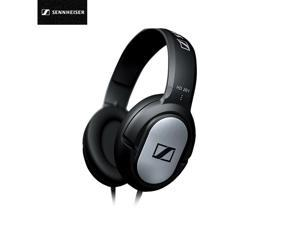 Sennheiser HD201 Over Ear Headphone Gaming Wired Headset 3.5mm Computer Earphones HD Microphone