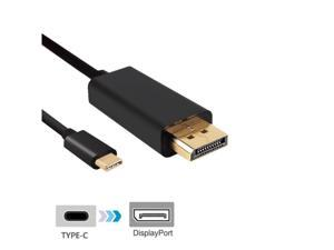 USB 3.1 Type C USB-C to DisplayPort DP Male USB Cable Adapter 1.8m