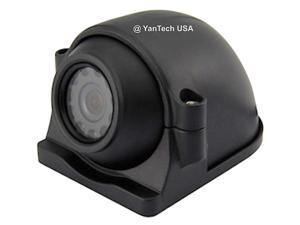 CCD COLOR 700TVL SIDE VIEW/ROOF CEILING MOUNT CAMERAS 120 Degree View with 12 IR Lens w/RCA Plug