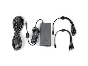 Q-See 12V 5AMP Camera Power Adapter with 4-way and 8-way Power Splitters QSS1250A