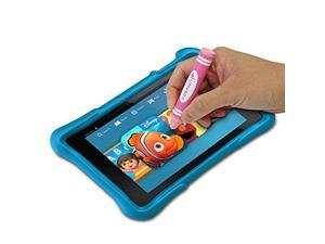 Fosmon YOUTH Series Children Capacitive Stylus for   Smartphones and ablets - Green, Blue, Pink, Red, and   Yellow - 5-Pack