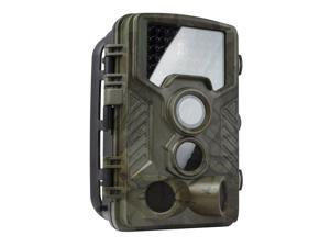 REXING Woodlens H1 HD 16MP Trail Camera Day & Night Ultra Fast Motion Detection, 0.2s Trigger Speed, LED Flash Photo, Video Hunting Game Personal Surveillance Cam