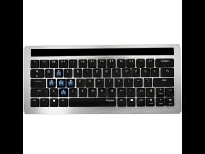 Rapoo KX Wireless Office Mechanical Keyboard Blue Switch Black Edition
