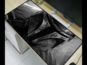 Star War Super Large Size Mouse Pad Natural Rubber Material Waterproof Desk Gaming Mousepad Desk Mats for Dota LOL