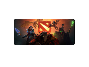 Size HUIFANGBU MONTIAN Colorful LED Light Thickening Lock Keyboard Pad Game Mouse Pad 300 x 250 x 4mm