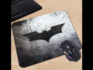 Comics Superhero Batman Arkham Black Logo Customized Mouse Pad Fashion Cool Laptop Computer Silicone Pad to Mouse Game