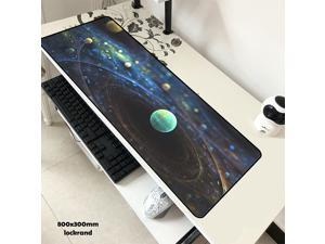 Galaxy mouse pad Gorgeous pad to mouse computer mousepad Colourful gaming padmouse gamer laptop 800x300x3mm present mouse mat