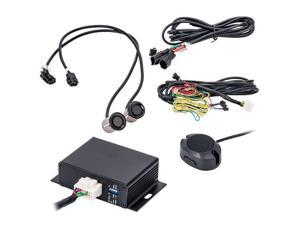 Accele BSS200D Distance Display Blind Spot Sensor Detection System with LED