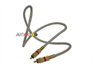 RCA High Performance Digital Coaxial Audio Cable 3 feet Red (Single)