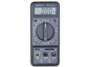 All in One Digital Multimeter - Measures DC and AC Voltage, Resistance, DC and AC Current, Capacitance, Frequency