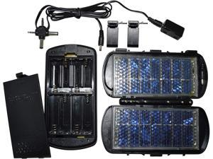 150mA Solar Battery Charger, Charges AA or AAA Batteries, Devices, Radios, Toys