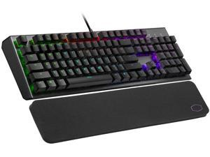 Cooler Master CK550 V2 Gaming Mechanical Keyboard Red Switch with RGB Backlighting, On-The-Fly Controls, and Hybrid Key Rollover, Full (CK-550-GKTR1-US)