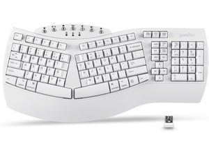 Perixx Periboard-612 Wireless Ergonomic Split Keyboard US English Layout
