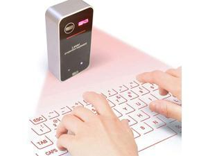 Makeupart Wireless Bluetooth Projection Virtual Keyboard for PC Tablet Laptop Key Board, High Recognition Sensitivity, Multi-System Compatibility, Creative Keyboard