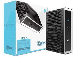ZOTAC ZBOX CI642 Nano Silent Passive-Cooled Mini PC 10th Gen Intel Core i5 Quad-core, Intel UHD Graphics, No Memory/Storage/OS Barebones System, ZBOX-CI642NANO-U