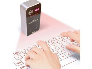Makeupart Laser Projection Keyboard, Wireless Bluetooth Virtual Keyboard, Portable Virtual Keyboard with Multi-Point Recognition Function, Suitable for Work, Outdoor or Leisure Entertainment