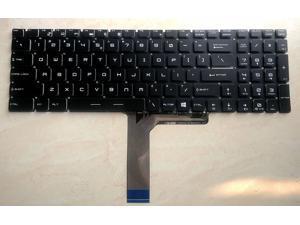 EJTONG New for MSI GE72VR GE62VR GS63VR GS73VR GT62VR GT72VR GT73VR GP62MVR 6RF-009US MS-179B MS-16H7 MS-1773 Series Laptop US Keyboard no Backlit