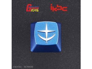 WW keycap Gundam Metal keycap Set, Keyboard Cap, UC0079 EFSF RX78 Zeon ZAKU Gundam, Suitable for Computer Mechanical Keyboard (EFSF)