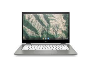 """HP x360 Chromebook 14B-CA0061 14"""" Touch 4GB 128GB Intel Pentium Silver N5030, Ceramic White"""