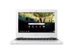 """Acer Chromebook CB3-132-173X 11.6"""" 4GB 32GB Intel Atom x5 E8000 X4 1.0GHz Chrome OS, White"""
