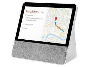 """Lenovo Smart Display 7"""" Touchscreen with Google Assistant, Blizzard White (Scratch and Dent)"""