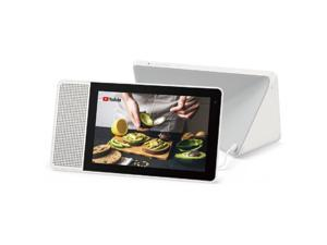 """Lenovo 8"""" Smart Display with Google Assistant, White"""