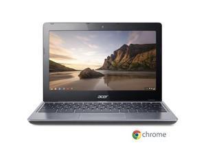 "Acer Chromebook C720-2844 Intel Celeron 2955U X2 1.4GHz 4GB 16GB SSD 11.6"", Black"
