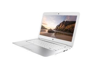 """HP Chromebook F7W49UA#ABA Intel Celeron 2955U X2 1.4GHz 4GB 16GB SSD 14"""", White"""