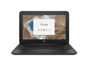 "HP Chromebook 1FX82UT#ABA Intel Celeron N3060 X2 2.48GHz 4GB 16GB SSD 11.6"", Black"