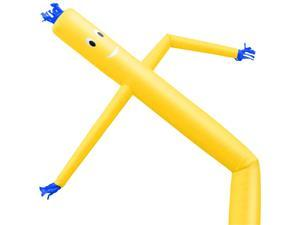 Cloud 9 Inflatable Wacky Waving Tube Man, Yellow 20 ft Dancing Air Puppet with Flailing Arms