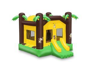 Cloud 9 Commercial Grade Jungle Bounce House with Blower - 100% PVC 17' x 13' Inflatable Bouncer