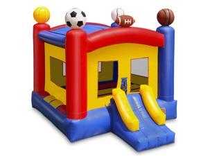 Cloud 9 Commercial Grade Sports Bounce House - 100% PVC 17' x 13' Bouncer - Inflatable Only
