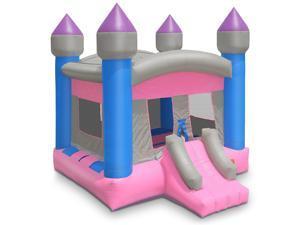 Cloud 9 Commercial Grade Princess Castle Bounce House with Blower - 100% PVC 13' x 13' Bouncer