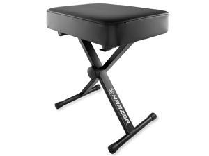 Hamzer Premium Heavy Duty Adjustable Piano and Keyboard Bench Seat