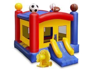 Cloud 9 Commercial Grade Sports Bounce House with Blower - 100% PVC 17' x 13' Inflatable Bouncer