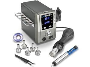 X-Tronic 6020-PRO-X • Platinum Series • 750 Watt • Hot Air Rework Station • 3 Temp Presets, Temp Calibration Func, C/F Func, Auto Cool Down/Standby Mode, Mute/Unmute Sound & Patented Nozzle Holder!